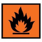 Hazard safety sign - Highly Flammable 040